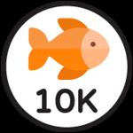 Roblox Fishing Simulator - Badge 10,000 Catches
