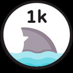 Roblox Fishing Simulator - Badge 1k Sea Creatures