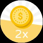 Roblox Fishing Simulator - Shop Item 2x Coins