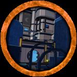 Roblox Flood Escape 2 - Badge Blue Moon