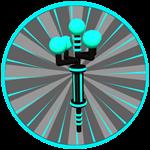 Roblox Ghost Simulator - Badge Antenna Level 10