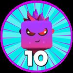 Roblox Ghost Simulator - Badge Pet Level 10