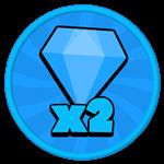 Roblox Gladiator Simulator - Shop Item x2 Gems