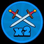 Roblox Gladiator Simulator - Shop Item x2 Sword Skills