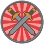 Roblox Gods Of Glory - Badge Ares
