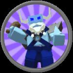 Roblox Gods Of Glory - Badge Ice And Snow