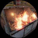 Roblox Hunting Season - Badge Dumpster Fire