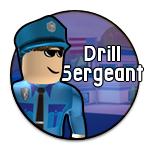 Roblox Jailbreak - Badge Drill Sergeant