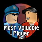 Roblox Jailbreak - Badge Most Valuable Player (MVP)