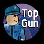 Roblox Jailbreak - Badge Top Gun