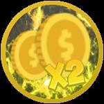 Roblox Knight Simulator - Shop Item x2 Coins