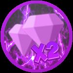 Roblox Knight Simulator - Shop Item x2 Gems