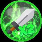 Roblox Knight Simulator - Shop Item x2 Swings