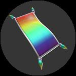 Roblox Mega Fun Obby - Shop Item [50% OFF] Rainbow Flying Carpet
