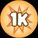 Roblox Monster Hunting Simulator - Badge Deal 1,000 Damage