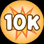 Roblox Monster Hunting Simulator - Badge Deal 10,000 Damage