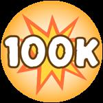 Roblox Monster Hunting Simulator - Badge Deal 100,000 Damage