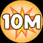 Roblox Monster Hunting Simulator - Badge Deal 10,000,000 Damage