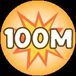 Roblox Monster Hunting Simulator - Badge Deal 100,000,000 Damage