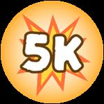 Roblox Monster Hunting Simulator - Badge Deal 5,000 Damage