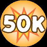 Roblox Monster Hunting Simulator - Badge Deal 50,000 Damage