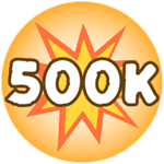 Roblox Monster Hunting Simulator - Badge Deal 500,000 Damage