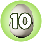 Roblox Monster Hunting Simulator - Badge Hatch 10 Eggs