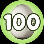 Roblox Monster Hunting Simulator - Badge Hatch 100 Eggs