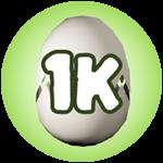 Roblox Monster Hunting Simulator - Badge Hatch 1,000 Eggs