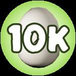 Roblox Monster Hunting Simulator - Badge Hatch 10,000 Eggs