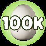 Roblox Monster Hunting Simulator - Badge Hatch 100,000 Eggs