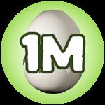 Roblox Monster Hunting Simulator - Badge Hatch 1,000,000 Eggs