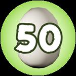 Roblox Monster Hunting Simulator - Badge Hatch 50 Eggs