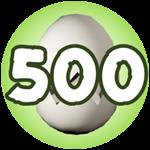 Roblox Monster Hunting Simulator - Badge Hatch 500 Eggs