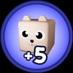 Roblox Monster Hunting Simulator - Shop Item +5 Pet Equip Slots
