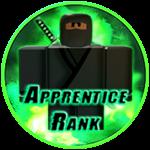 Roblox Ninja Legends - Badge Apprentice Rank