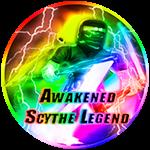 Roblox Ninja Legends - Badge Awakened Scythe Legend