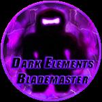 Roblox Ninja Legends - Badge Dark Elements Blademaster