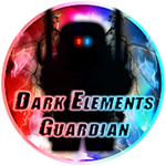 Roblox Ninja Legends - Badge Dark Elements Guardian