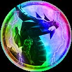Roblox Ninja Legends - Badge Dragon Evolution Form V