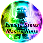 Roblox Ninja Legends - Badge Evolved Series Master Ninja