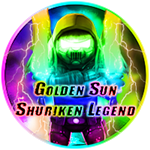 Roblox Ninja Legends - Badge Golden Sun Shuriken Legend