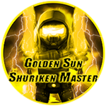 Roblox Ninja Legends - Badge Golden Sun Shuriken Master