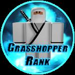 Roblox Ninja Legends - Badge Grasshopper Rank
