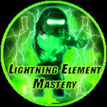 Roblox Ninja Legends - Badge Lightning Element Mastery