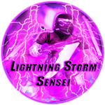 Roblox Ninja Legends - Badge Lightning Storm Sensei