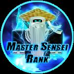 Roblox Ninja Legends - Badge Master Sensei Rank