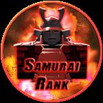 Roblox Ninja Legends - Badge Samurai Rank