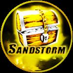 Roblox Ninja Legends - Badge Sandstorm