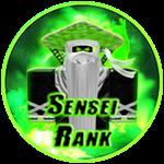 Roblox Ninja Legends - Badge Sensei Rank